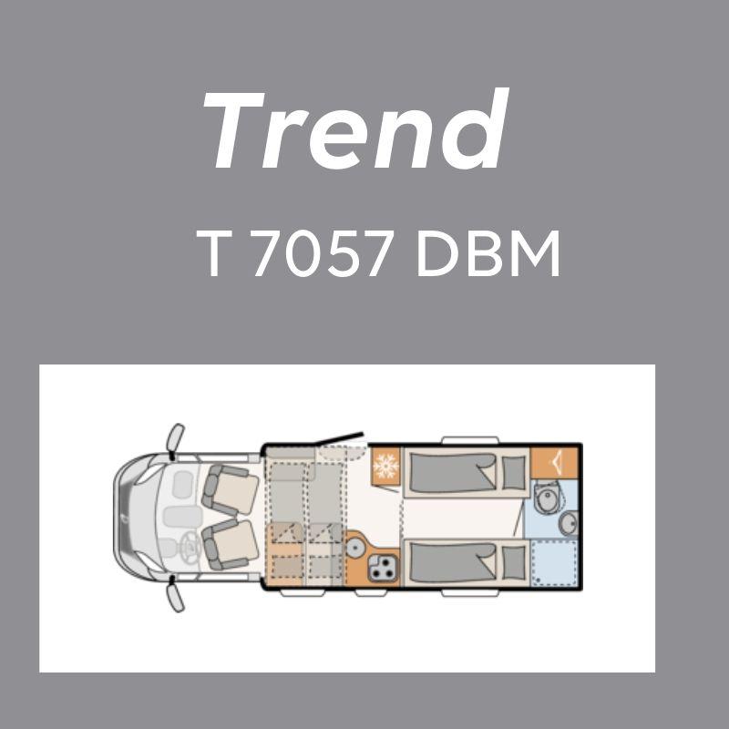 Dethleffs Trend Ferda T 7057 DBM