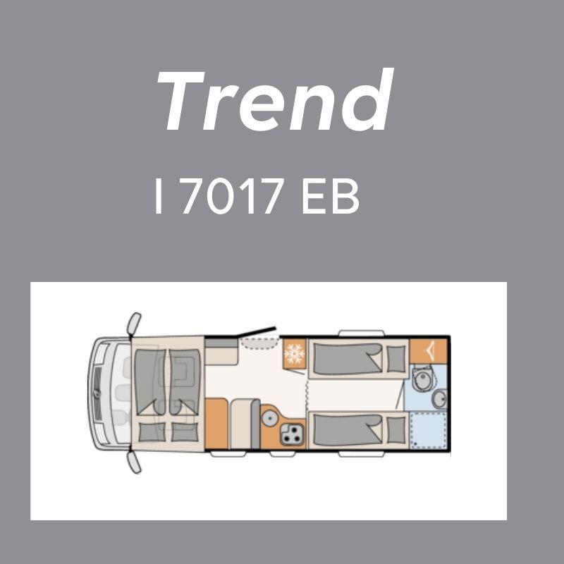 Dethleffs Trend Ferda T 7017 EB