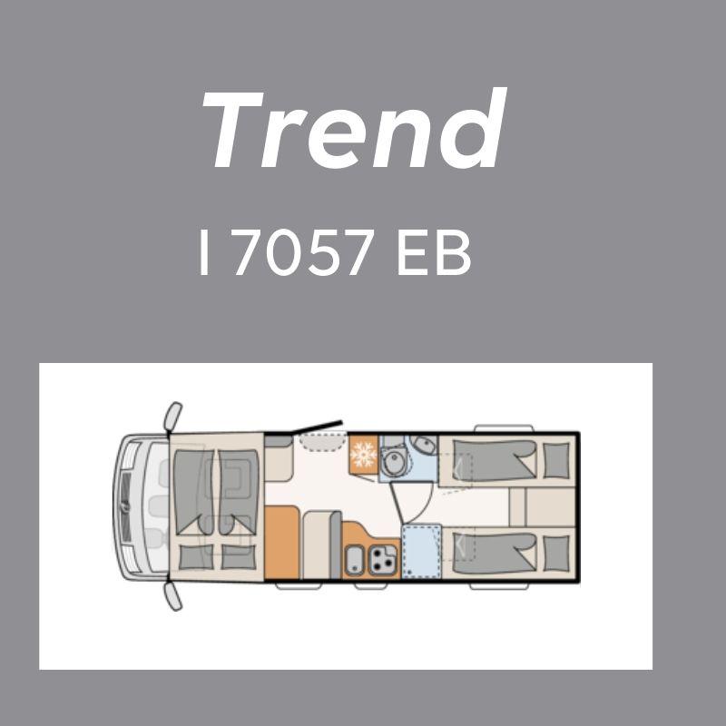 Dethleffs Trend Ferda I 7057 EB