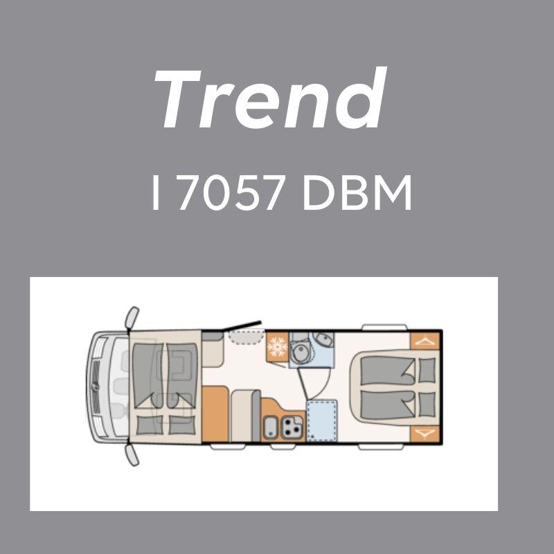 Dethleffs Trend Ferda I 7057 DBM